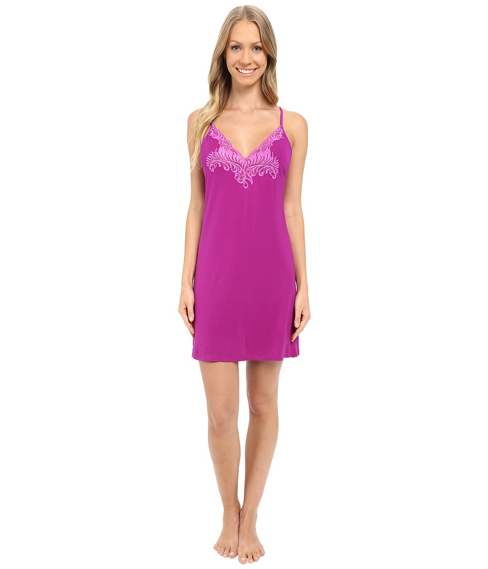 Natori - Feathers Chemise (Purple Haze) Women's Pajama
