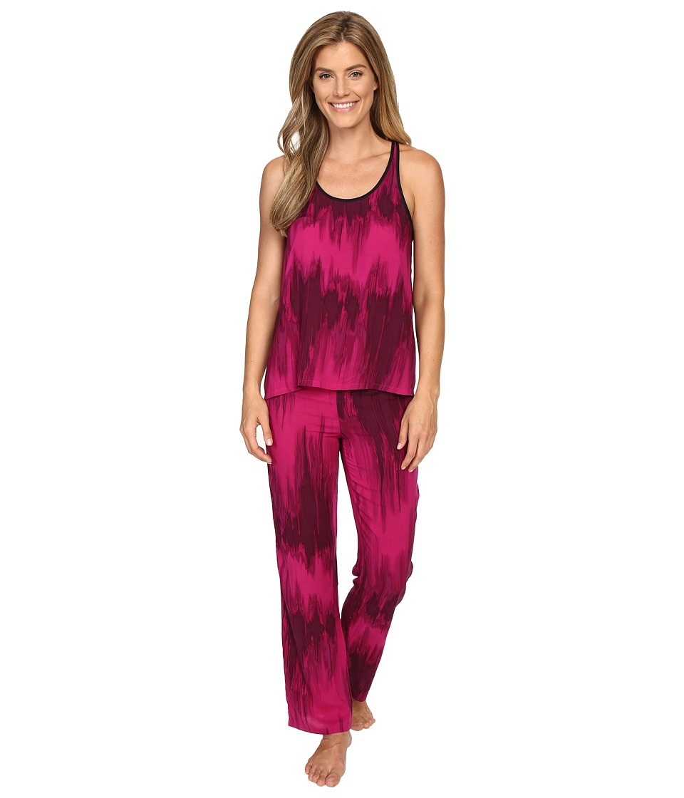 Josie - Waterfall PJ (Fuchsia) Women's Pajama Sets