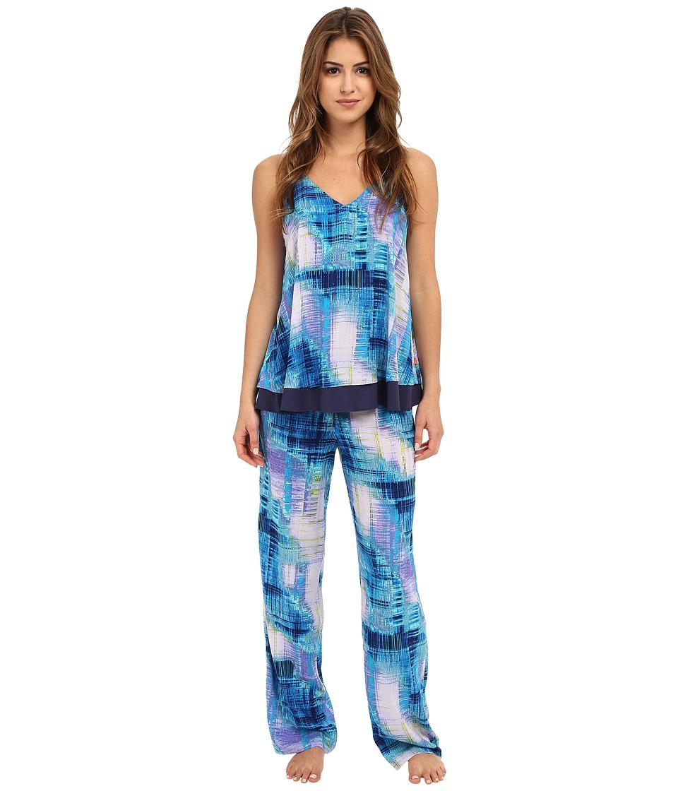 Josie - Breeze Cami PJ (Blue Multi) Women's Pajama Sets