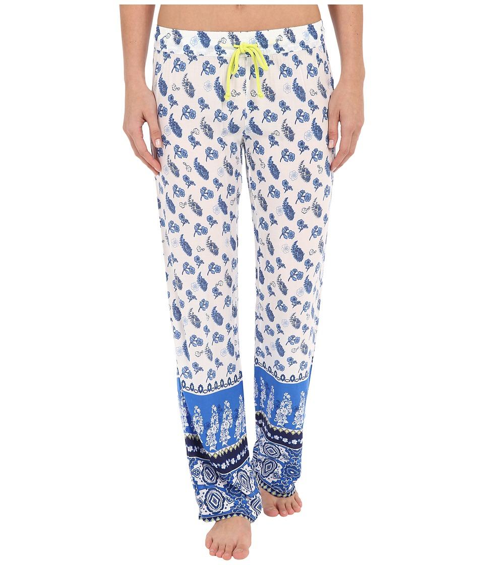 P.J. Salvage - Coastal Blue Bandana Print Pant (Ivory) Women's Pajama