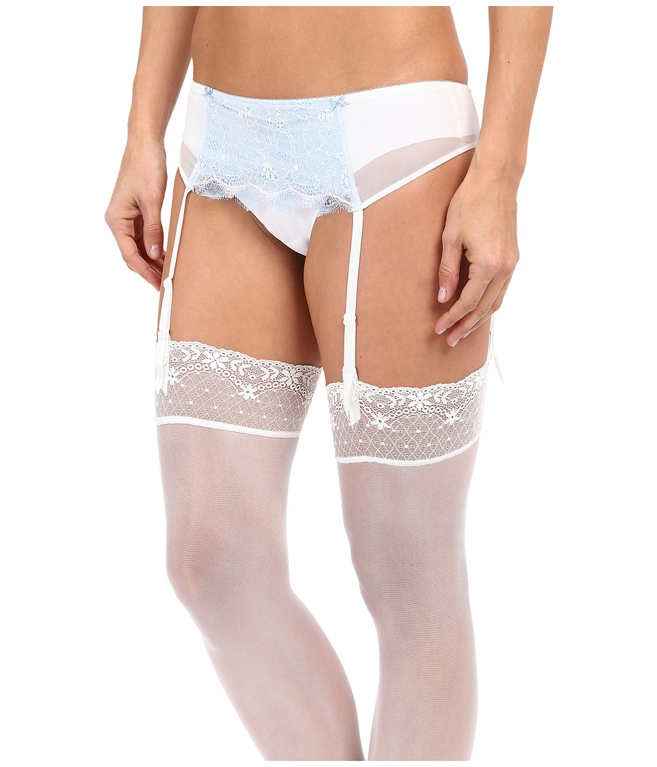 b.tempt'd - B.Sultry Garter Belt (Bridal White) Women's Lingerie
