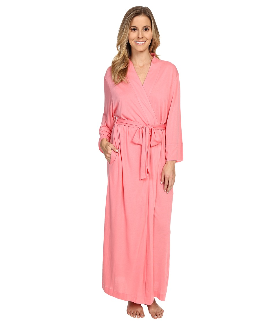 Natori - Shangri-La Robe (Pink Cantaloupe) Women's Robe
