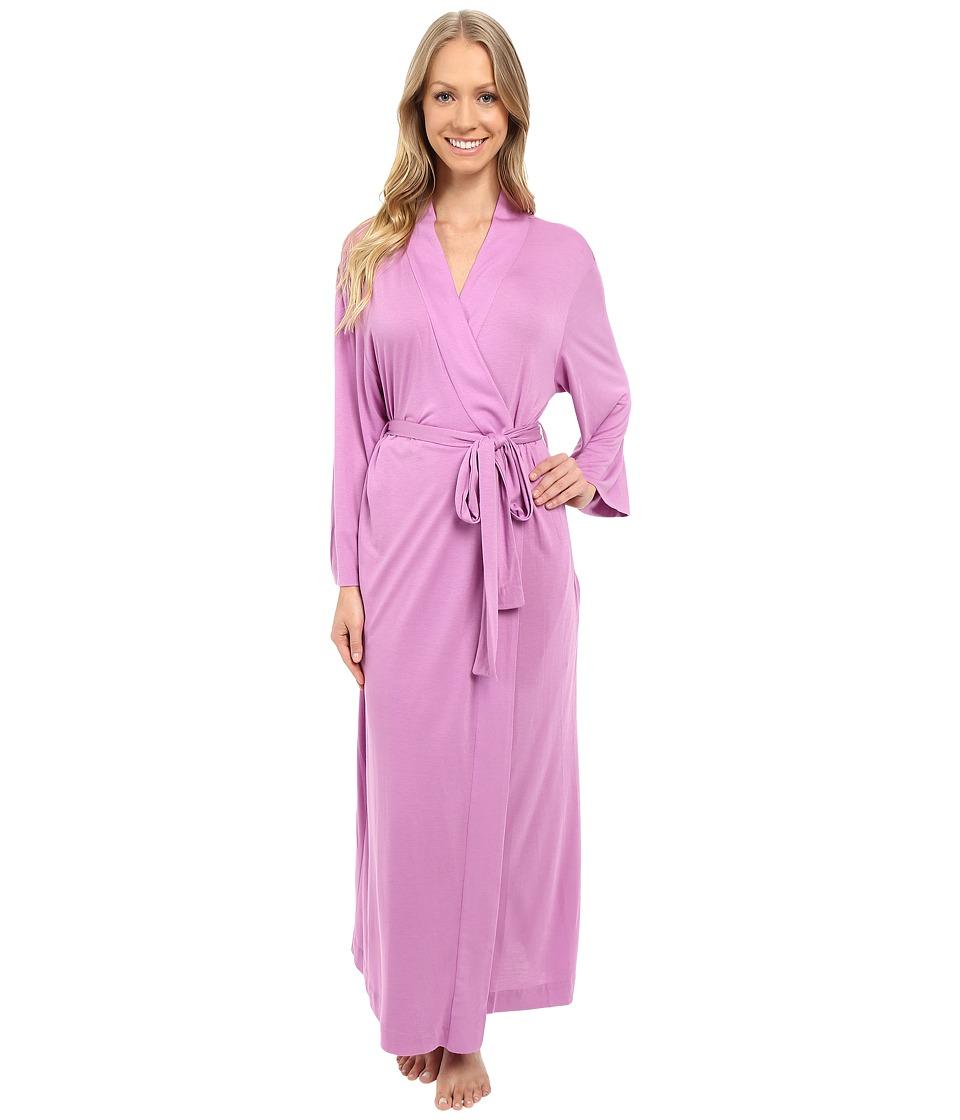 Natori - Shangri-La Robe (Violet) Women's Robe