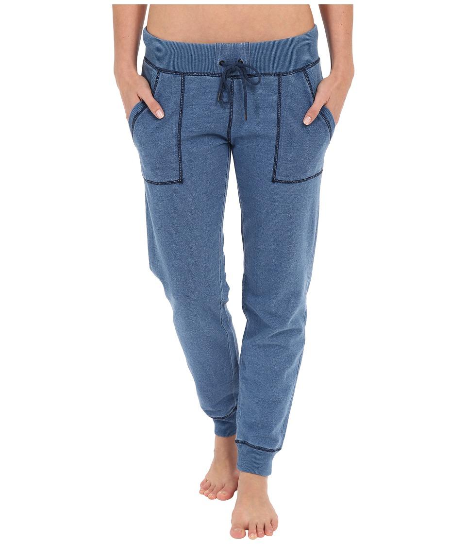 P.J. Salvage - French Terry Jogger Pants (Indigo) Women's Pajama