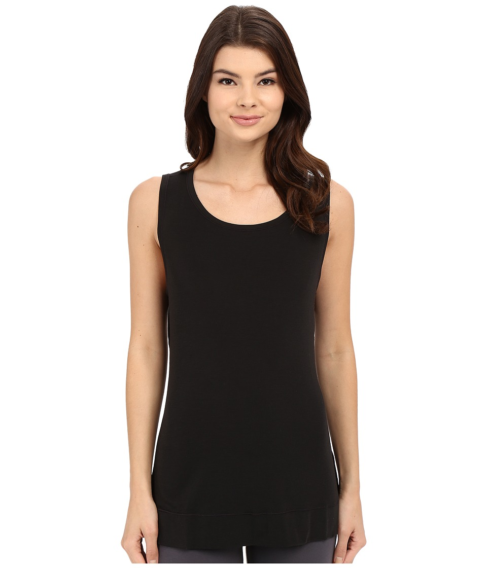 Yummie - Cameron Muscle Tank Top (Black) Women's Sleeveless