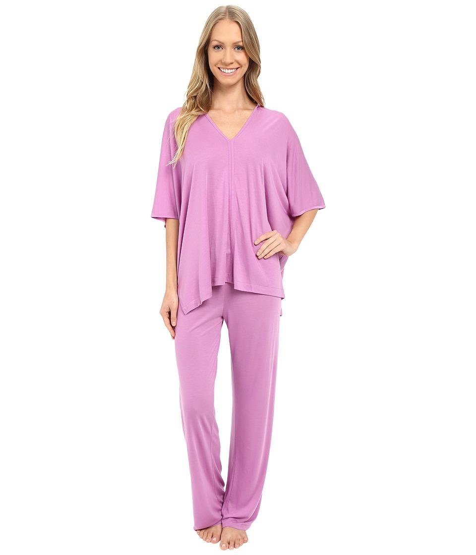 Natori - Shangri-La Tunic PJ (Violet) Women's Pajama Sets