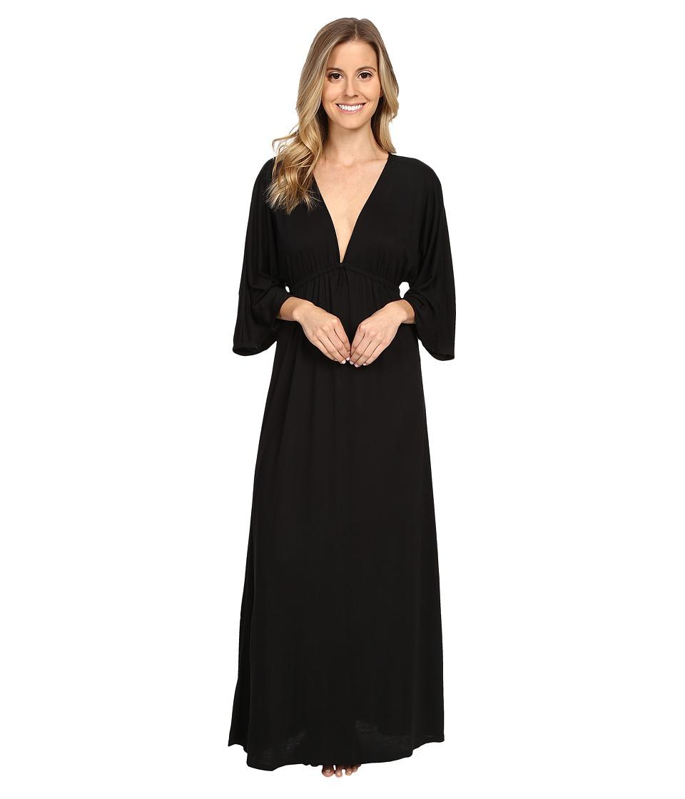 Natori - Shangri-La Lounger (Black) Women's Pajama