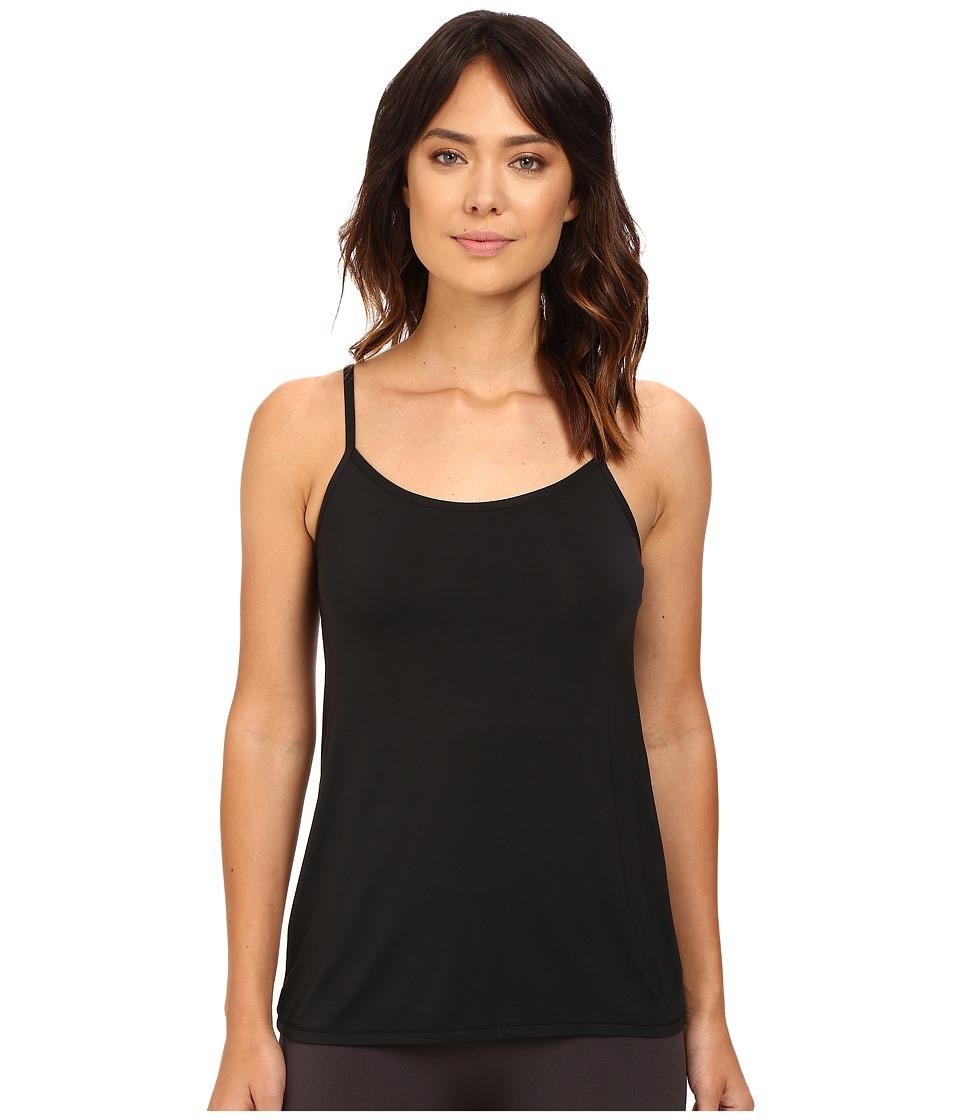 Yummie by Heather Thomson - Cassidy Micro Modal Convertible Shelf Camisole (Black) Women's Sleeveless