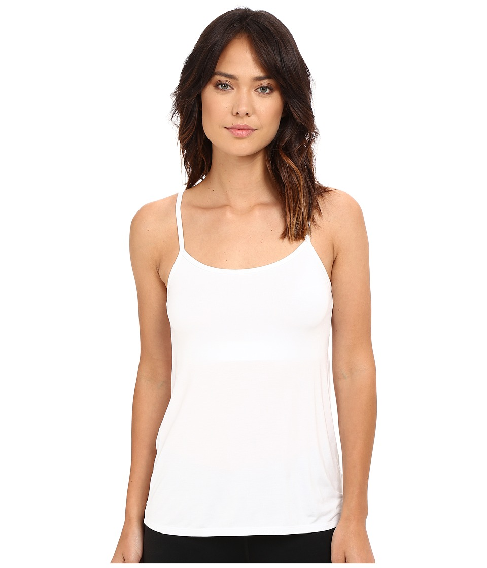 Yummie by Heather Thomson - Cassidy Micro Modal Convertible Shelf Camisole (White) Women's Sleeveless