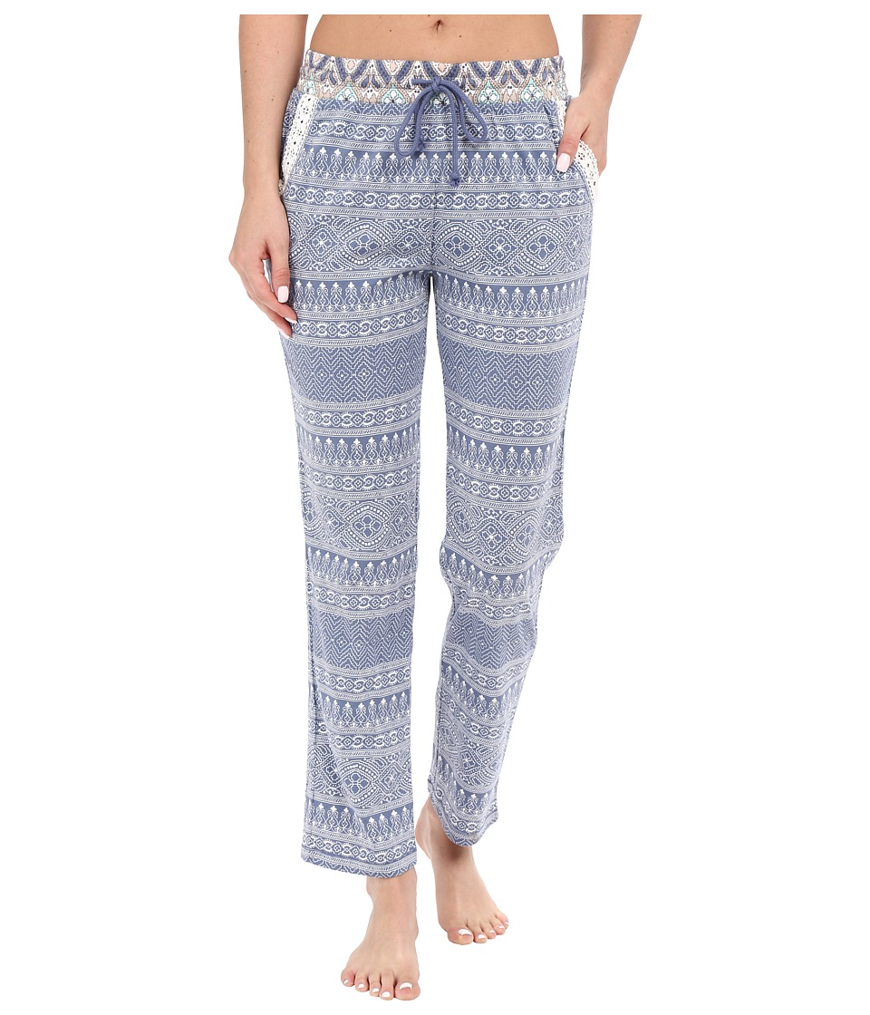 P.J. Salvage - Miss Matched Sleep Pants (Denim) Women's Pajama