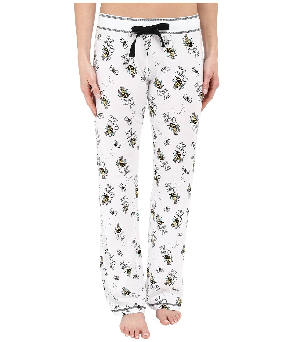 P.J. Salvage - Queen Bee PJ Pants (Ivory) Women's Pajama