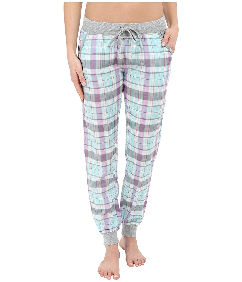 P.J. Salvage - Double Sided Plaid Jogger Pants (Multi) Women