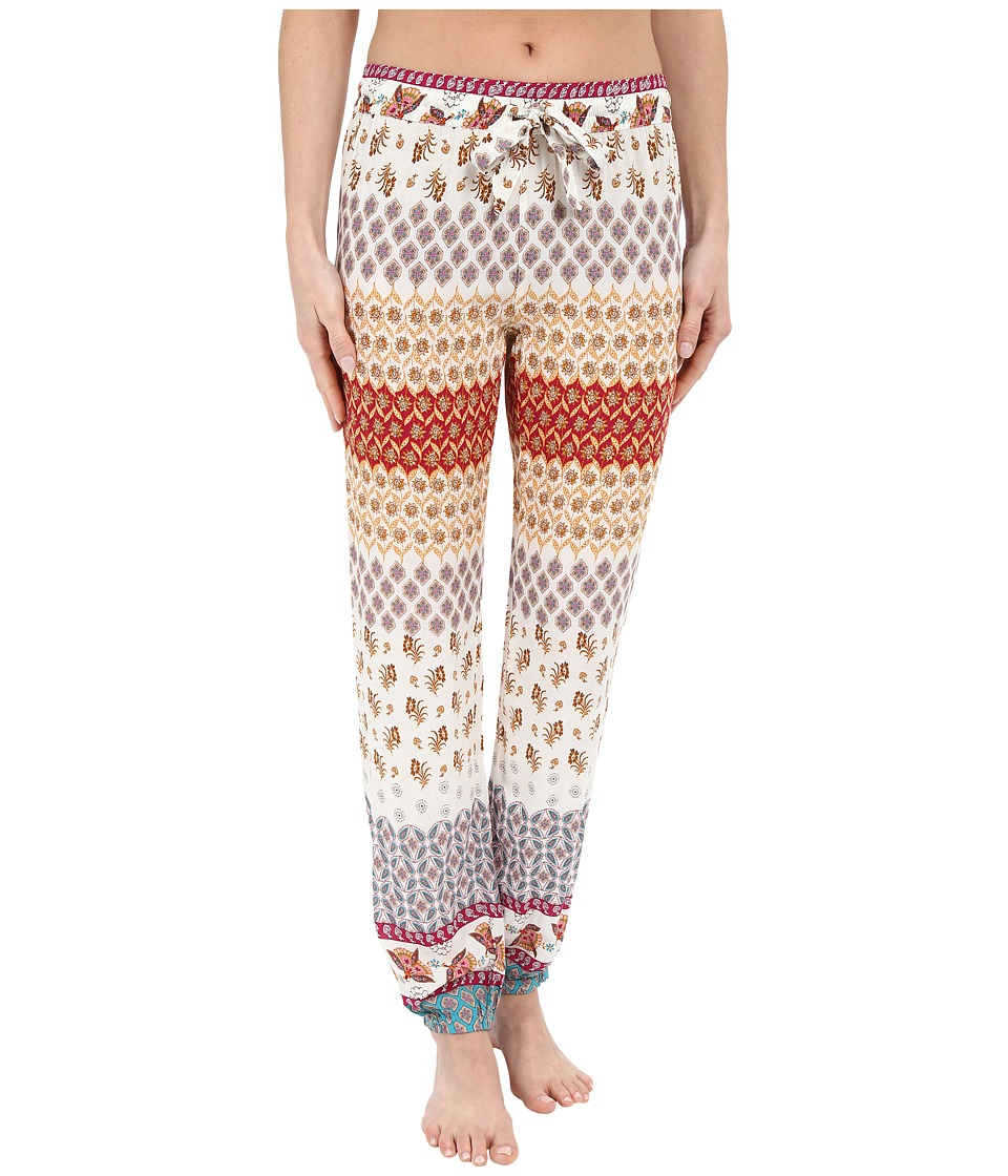 P.J. Salvage - Challe Chic Boho Banded Pants (Natural) Women's Pajama