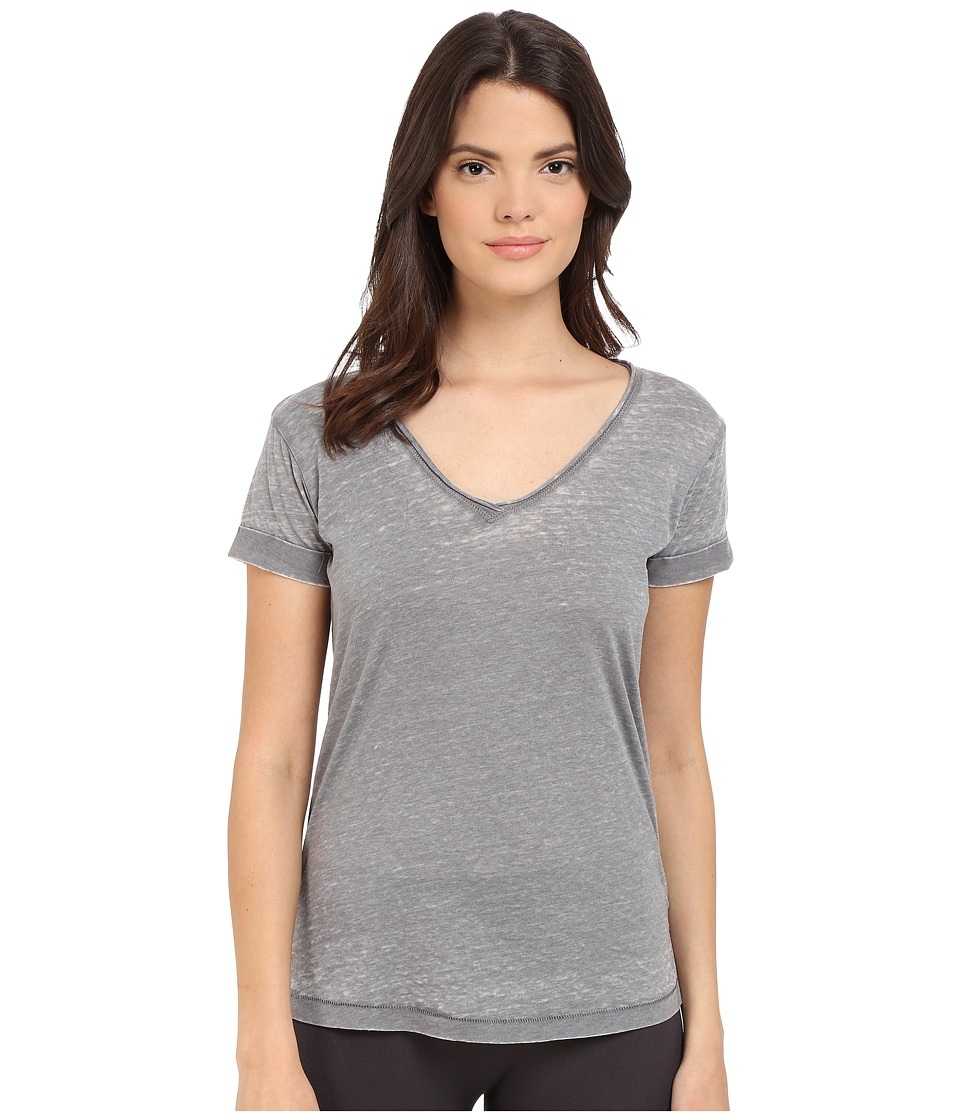 P.J. Salvage - Burnout Jersey Tee (Grey) Women's Pajama