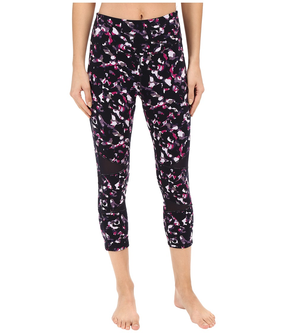 Yummie - Leah Capris (Stained Glass) Women's Capri