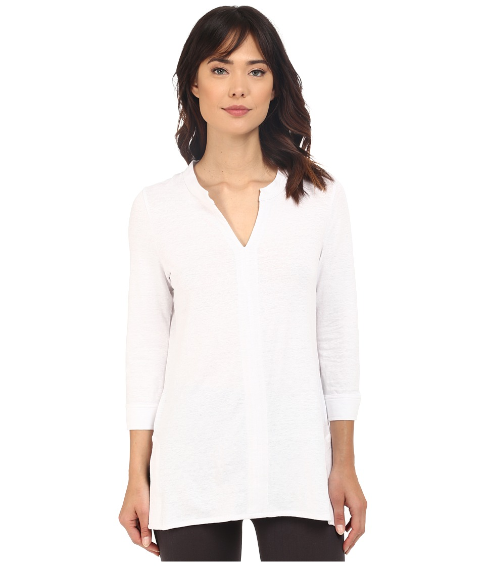 Lysse - Linen Playa Tunic (White) Women's Clothing