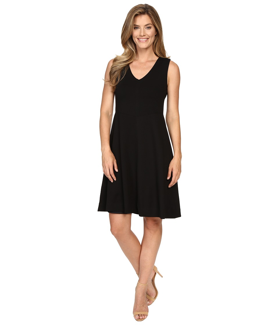 Lysse - Noche Ponte Dress (Black) Women's Dress