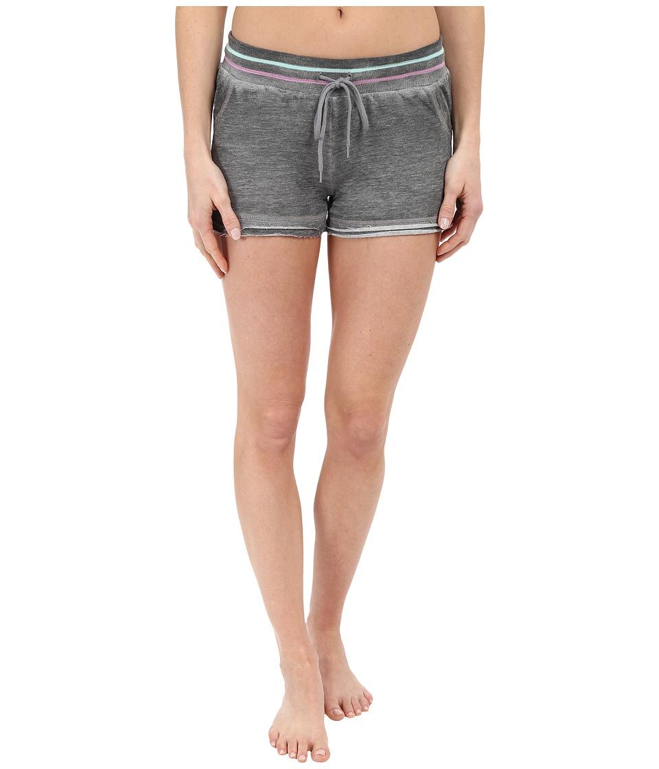 P.J. Salvage - Frayed Edge Shorts (Heather Grey) Women's Pajama