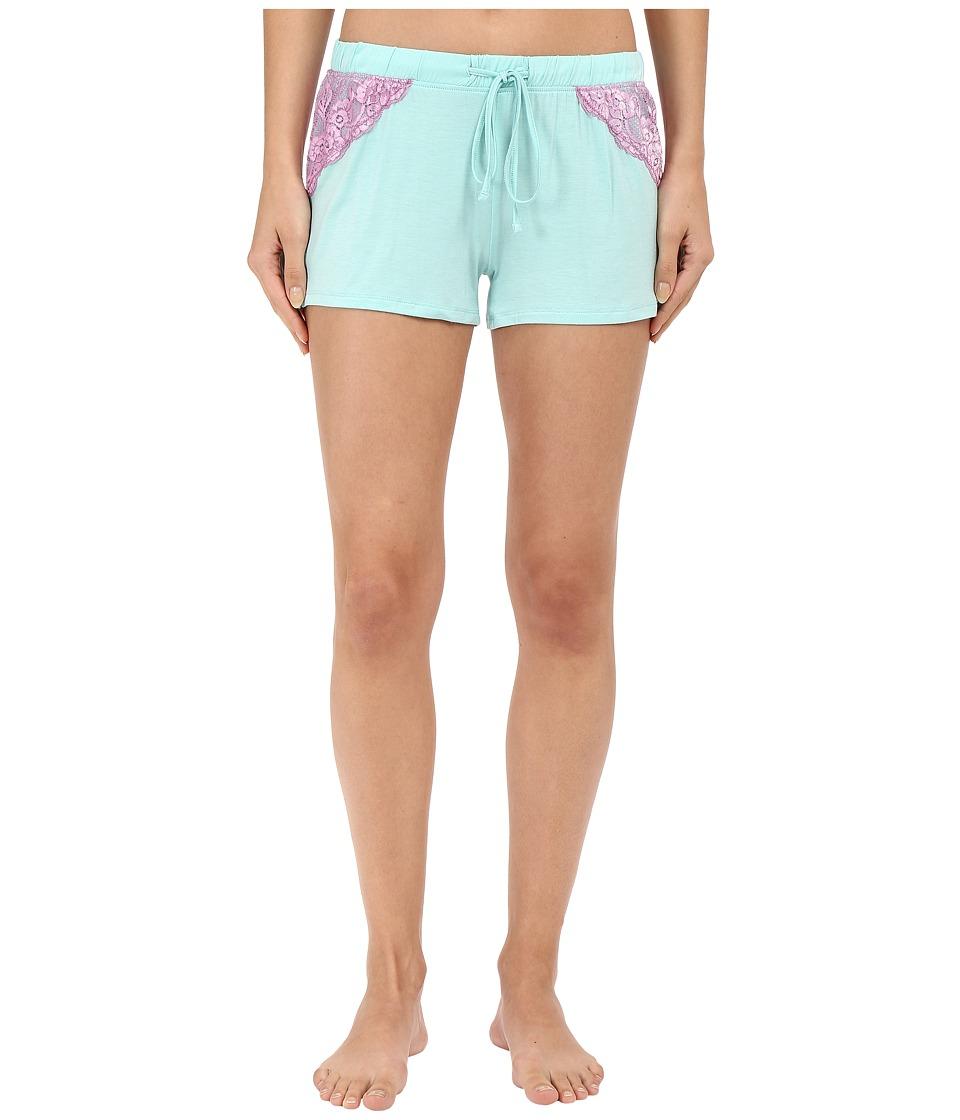 P.J. Salvage - Sorbet Combo Shorts (Mint) Women's Pajama