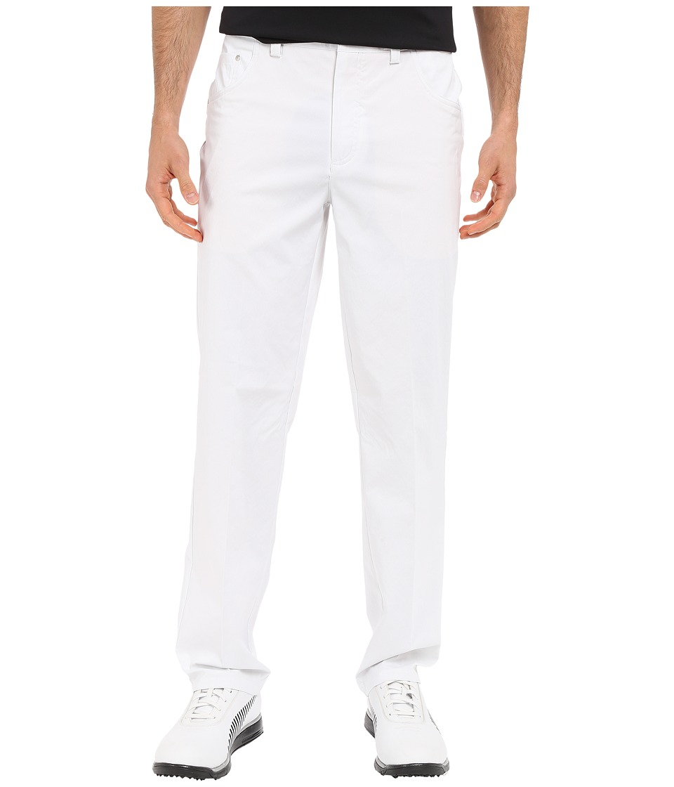 PUMA Golf - 6-Pocket Pants (White) Men's Casual Pants