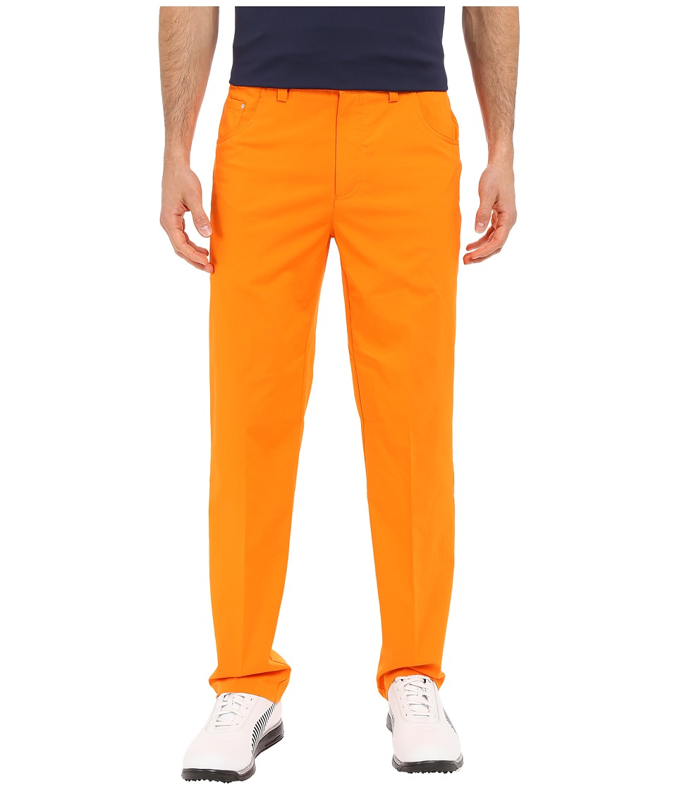PUMA Golf - 6-Pocket Pants (Vibrant Orange) Men's Casual Pants