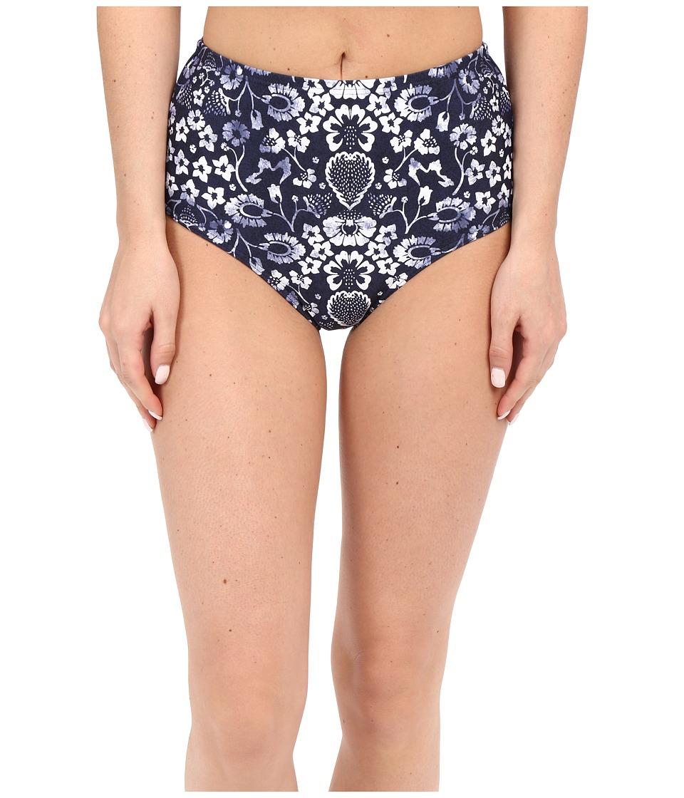 O'Neill - Retro Americana High Waist Bottom (Navy) Women's Swimwear