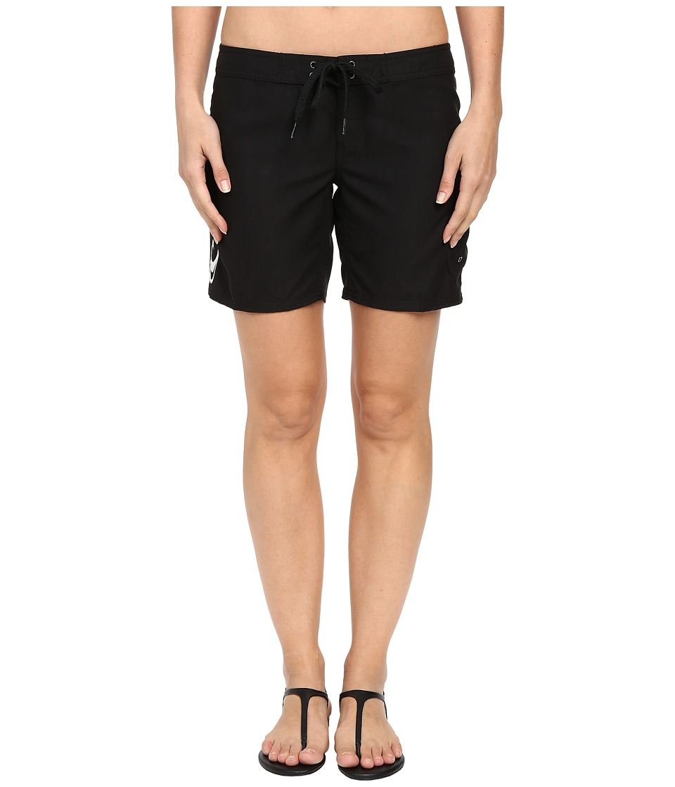 O'Neill - Atlantic 7 Boardshorts (Black) Women's Swimwear