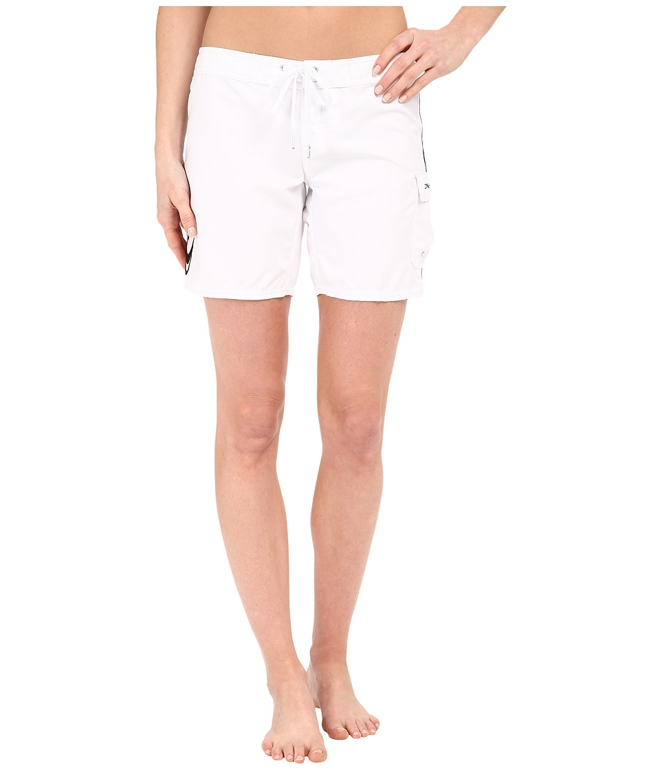 O'Neill - Atlantic 7 Boardshorts (White) Women's Swimwear