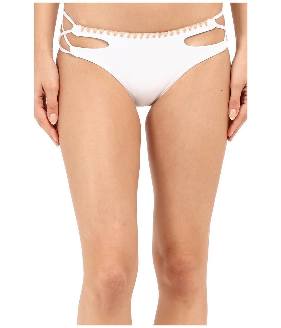 ONeill Carmen Notch Bottom White Swimwear