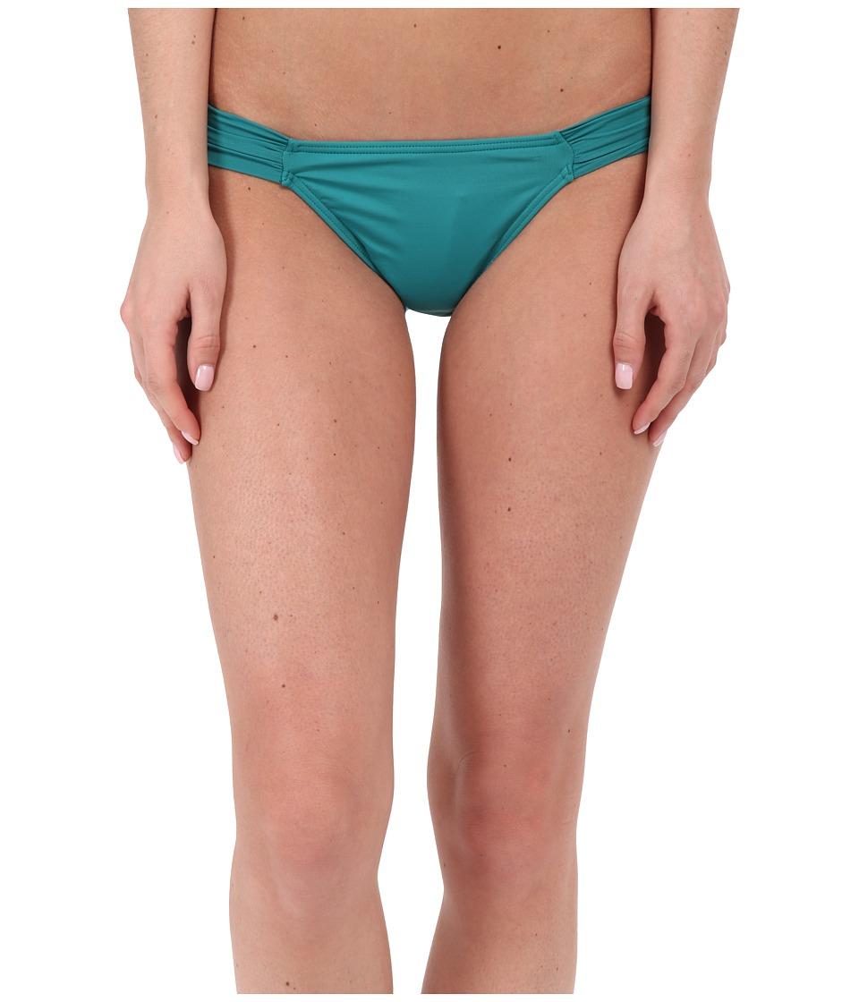 O'Neill - Salt Water Solids Tab Side Bottom (Emerald) Women's Swimwear