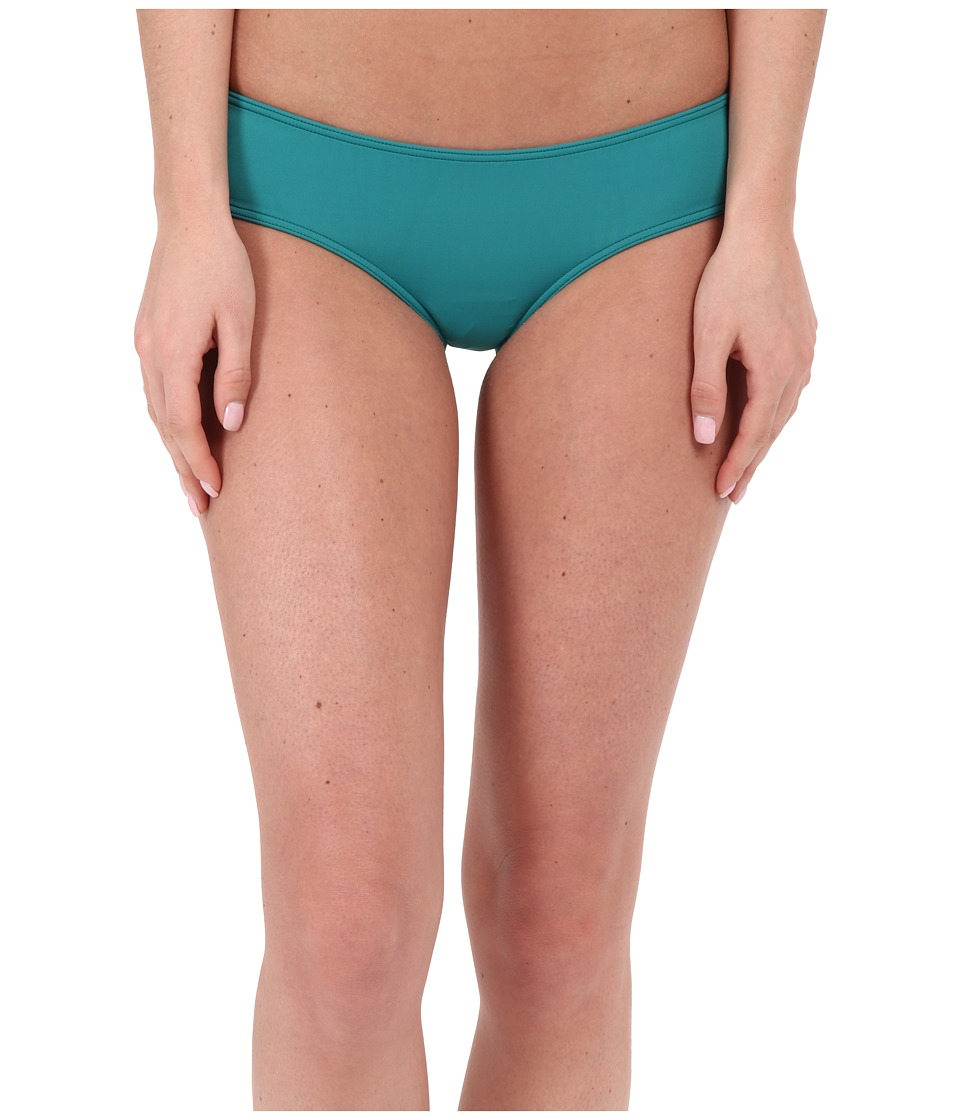 O'Neill - Salt Water Solids Hipster Bottom (Emerald) Women's Swimwear