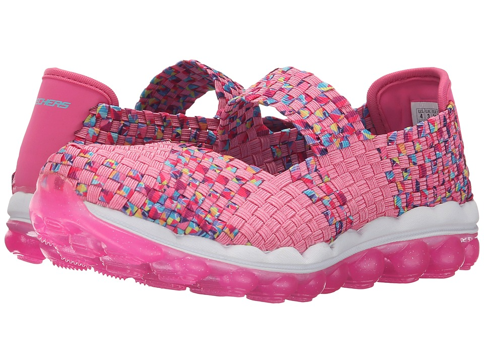 SKECHERS KIDS - Skech Air Hi Bounce 80339L (Little Kid/Big Kid) (Pink/Multi) Girl's Shoes