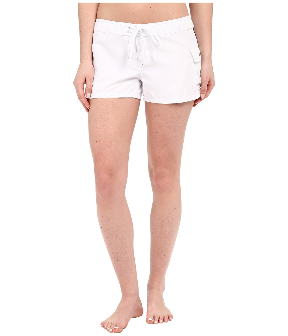 O'Neill - Pacific 3 Boardshorts (White) Women's Swimwear