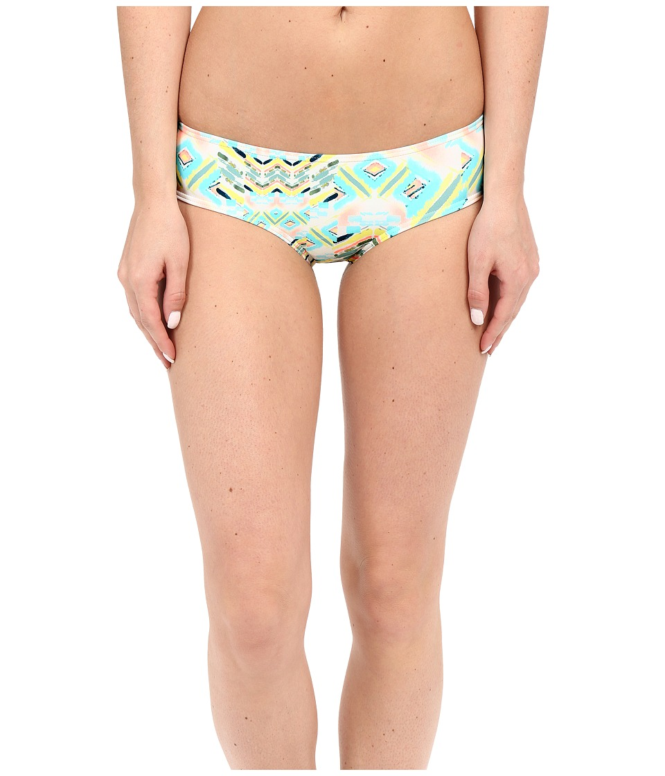 O'Neill - Cabo Shirred Back Hipster Bottom (Sea Pea) Women's Swimwear