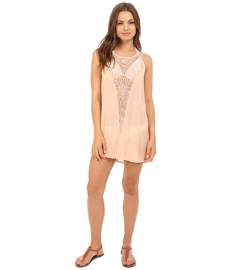 O'Neill - Sophie Cover-Up (Soft Peach) Women's Swimwear