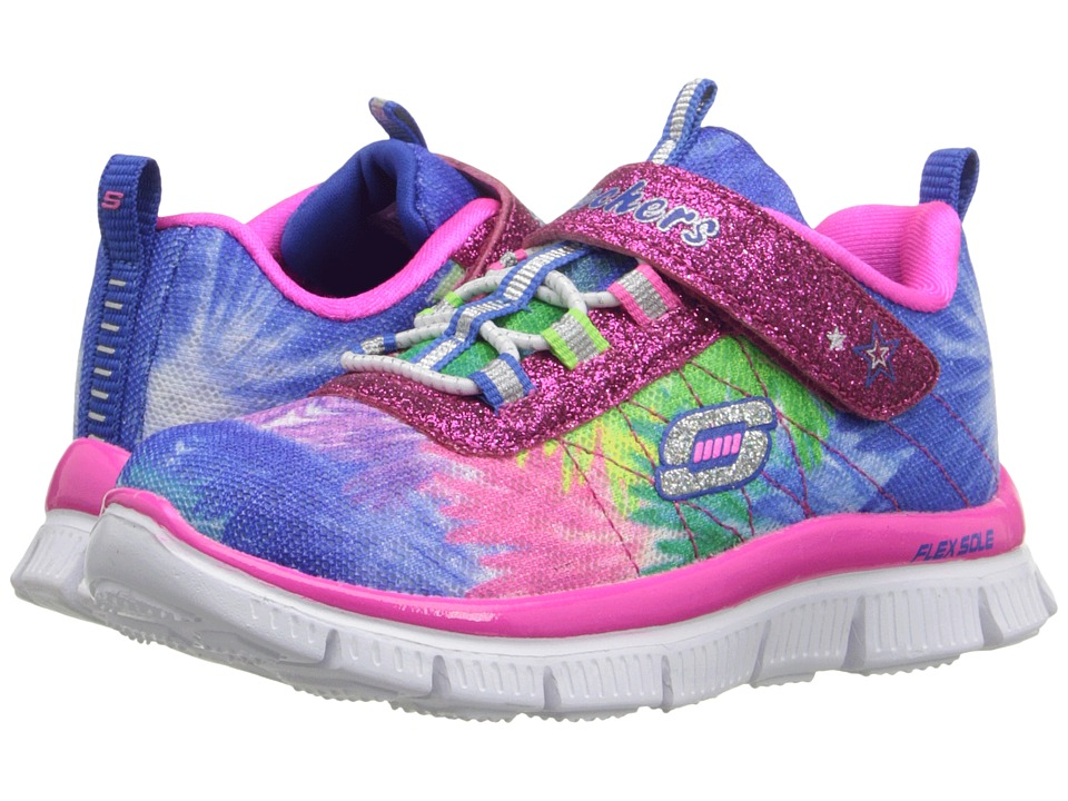 SKECHERS KIDS - Skech Appeal-Hot Tropic 81852N (Toddler) (Multi) Girl's Shoes