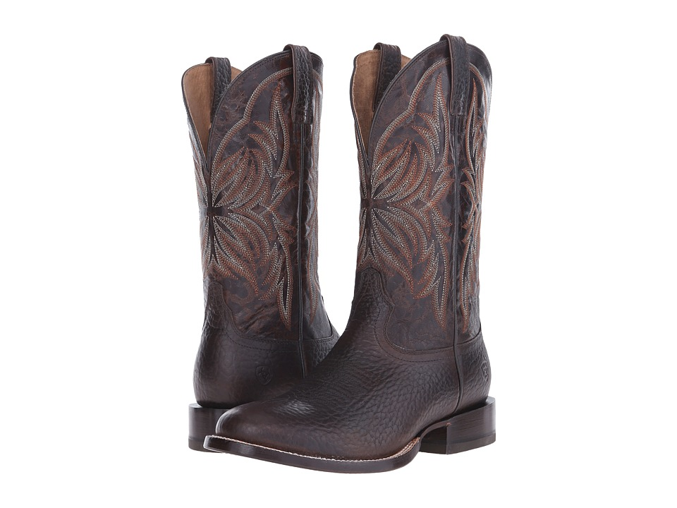 Ariat Cyclone (Chocolate/Rich Chocolate) Cowboy Boots