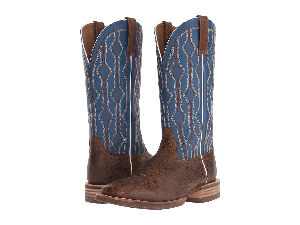 Ariat - Live Wire (Copper Kettle/Royal) Cowboy Boots