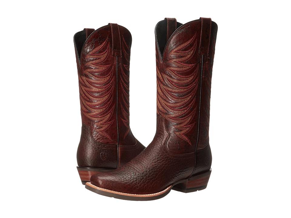 Ariat - Crosswire (Dapple Bay/Blood Bay Appy) Cowboy Boots