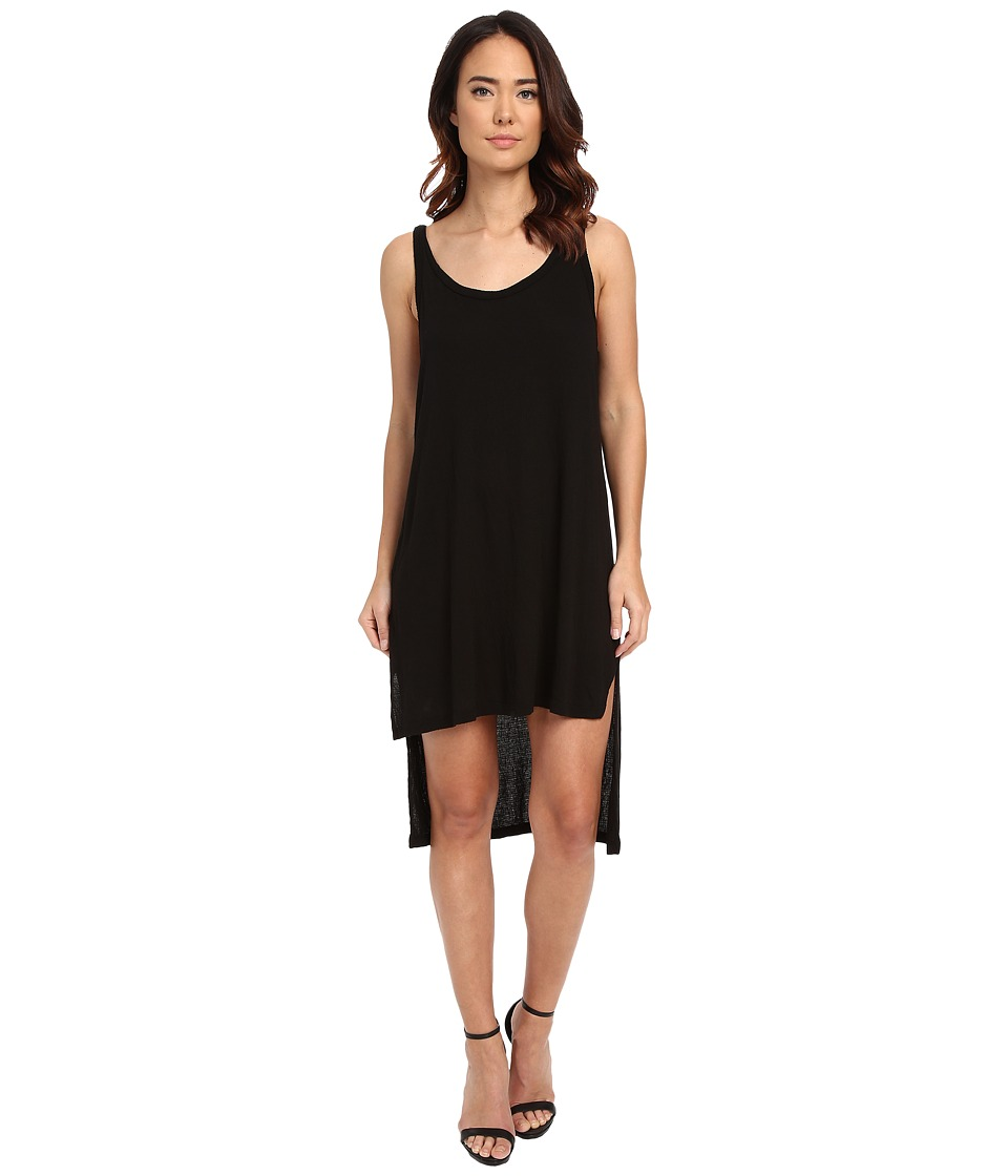 LNA Fiji Tank Dress (Black) Women