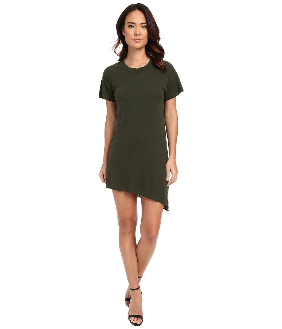 LNA - Slant Tee Dress (Army) Women's Dress