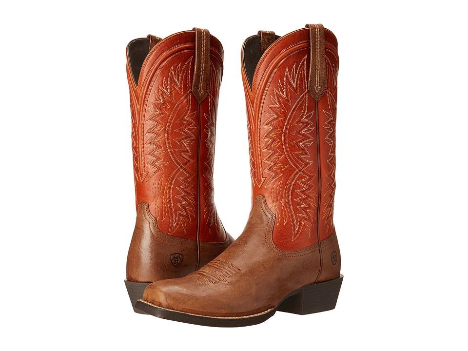 Ariat - Troubadour (Wood/Tuscan Sun) Cowboy Boots