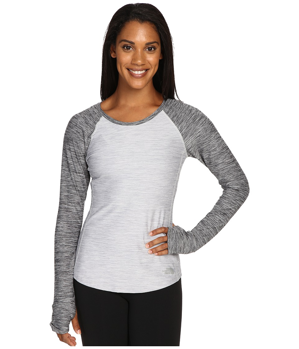 The North Face - Motivation Long Sleeve Top (TNF Light Grey Heather/TNF Dark Grey Heather) Women's Long Sleeve Pullover