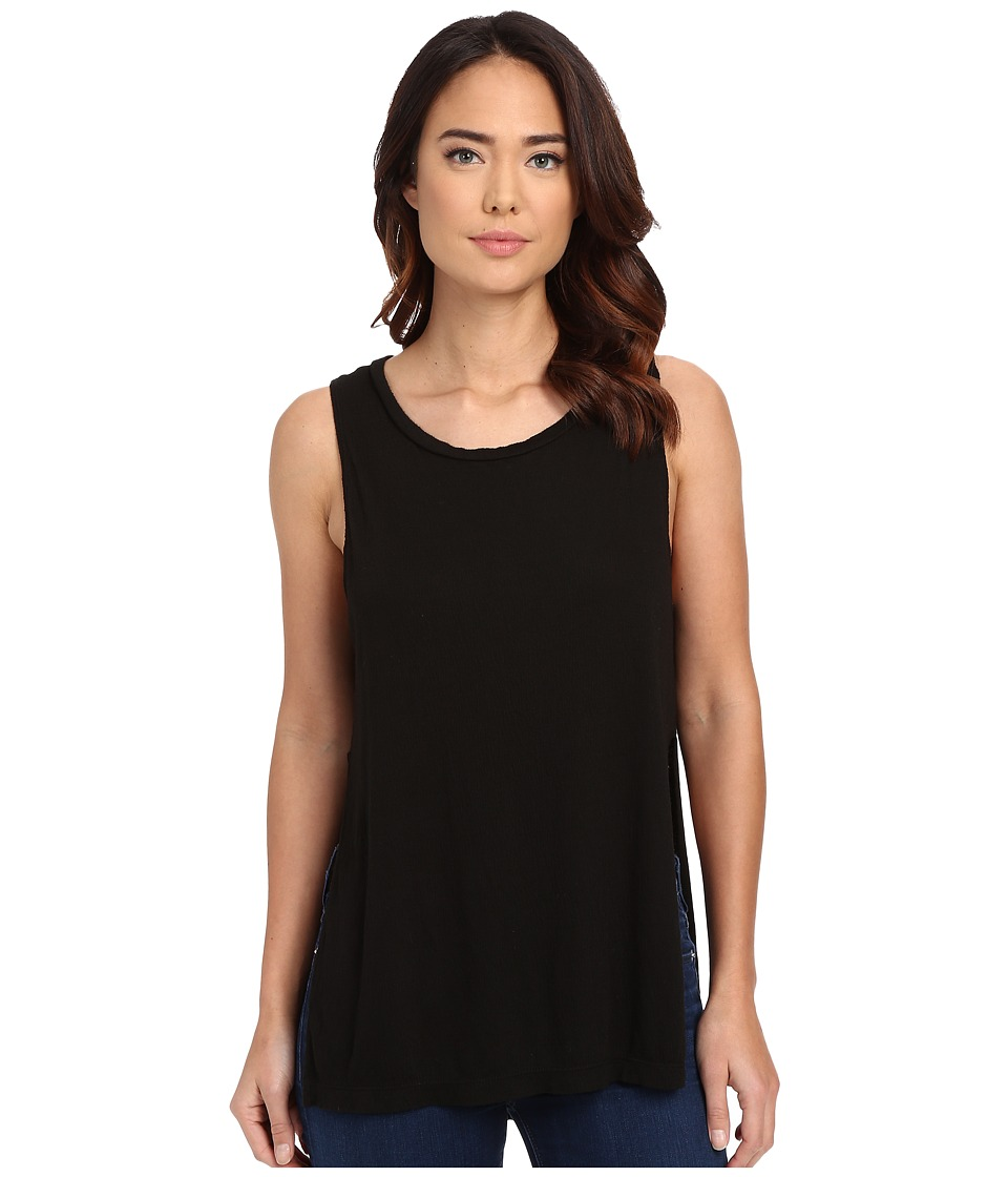 LNA - Serafina Tank Dress (Black) Women's Sleeveless