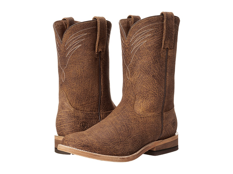 Ariat Dress Roper (Tan Oiled Gaucho) Cowboy Boots