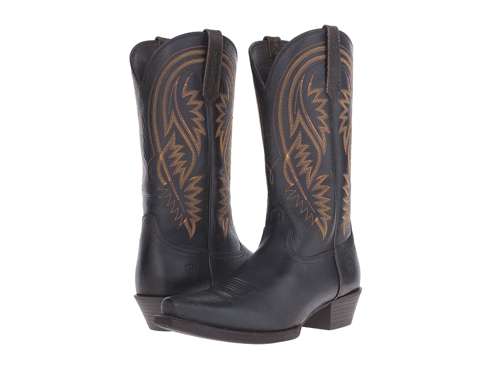 Ariat - Revolution (Murky Black) Cowboy Boots
