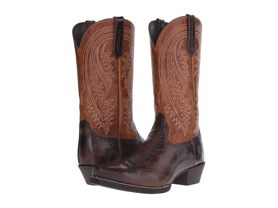Ariat - Revolution (Thunder Brown/Two-Tone Tan) Cowboy Boots