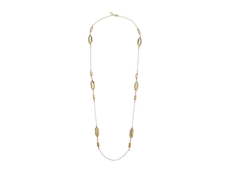 LAUREN Ralph Lauren - Golden Opulence 36 Metal Nugget Necklace (Gold) Necklace