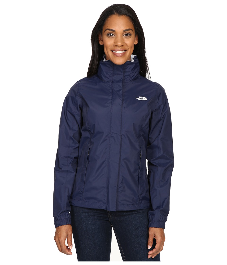 The North Face - Resolve Jacket (Cosmic Blue/Artic Ice Blue) Women's Coat