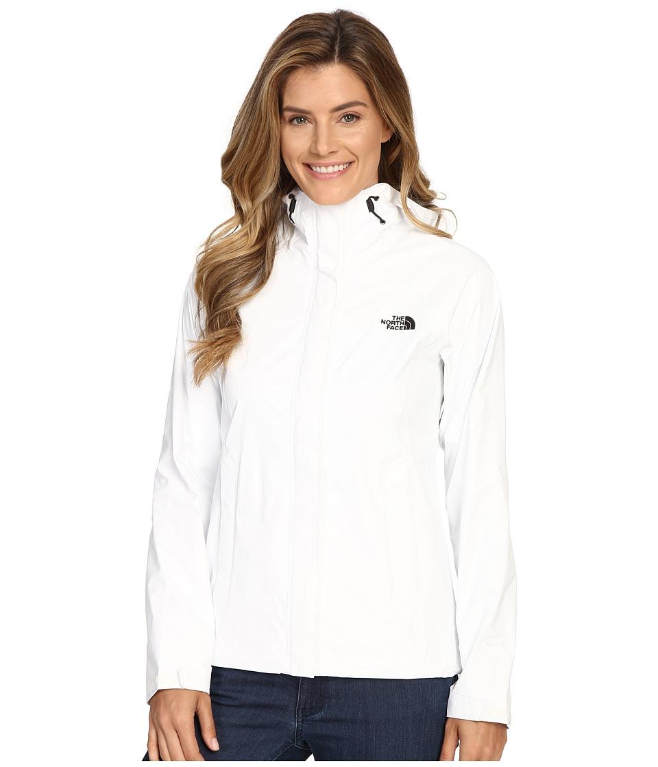 The North Face - Venture Jacket (TNF White/TNF Black) Women's Coat